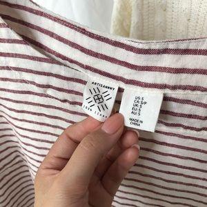 Artisan Ny Tops - ✸3 for $30✸ ARTISAN NY/ striped linen top